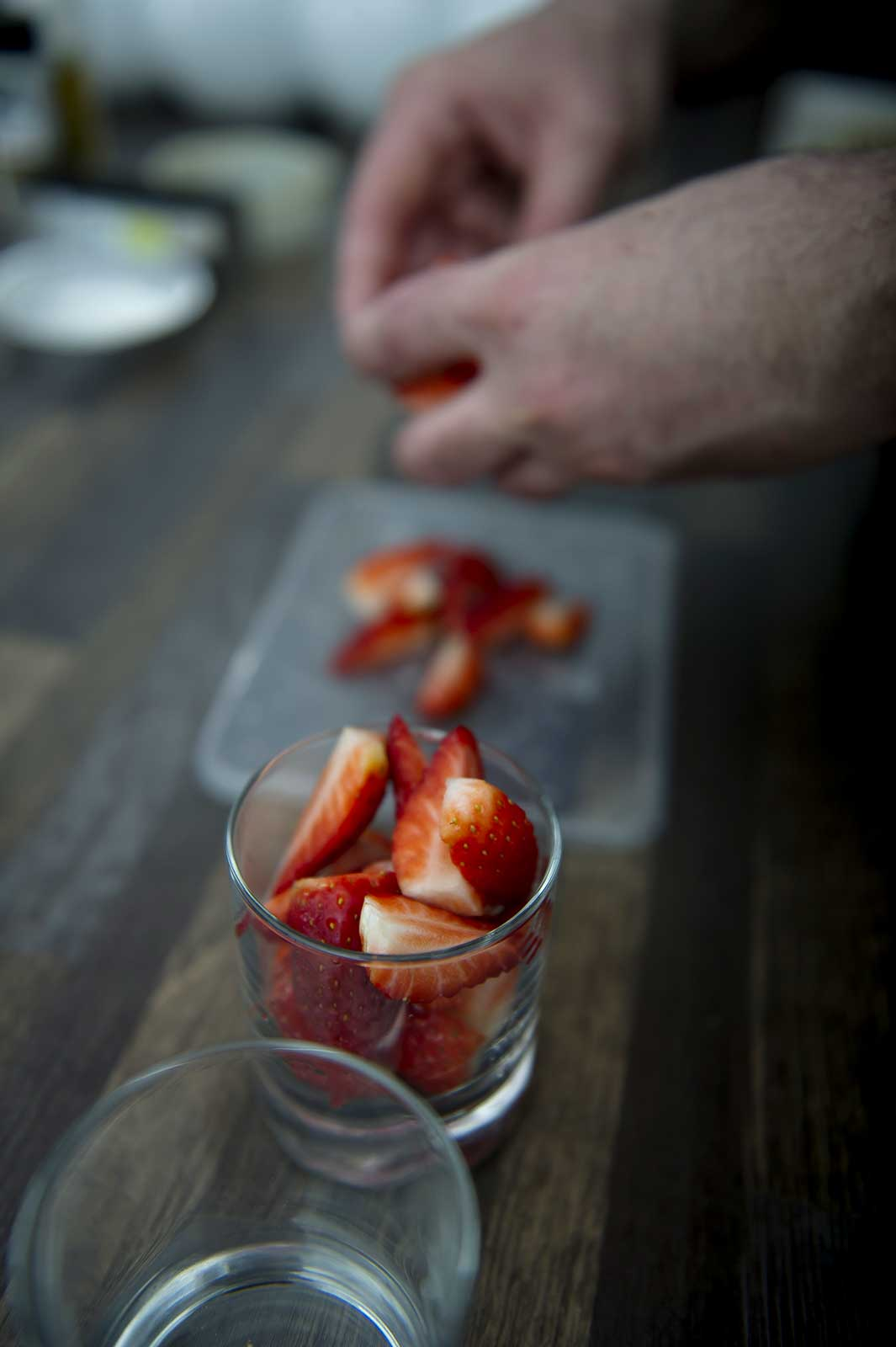 Dessert préparé à domicile par Gael DASSONVILLE : chef à domicile
